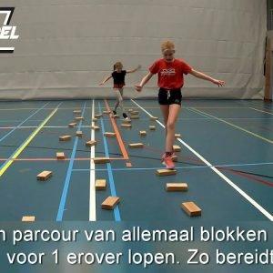 Uitgelezene Gymles balanceren geven? Bekijk hier balanceer spellen en oefeningen! PI-08